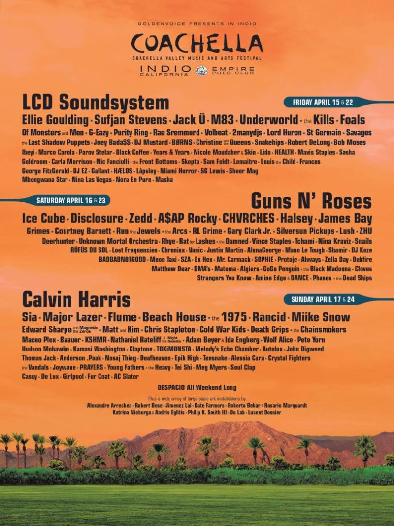 Coachella 2016- Week 2