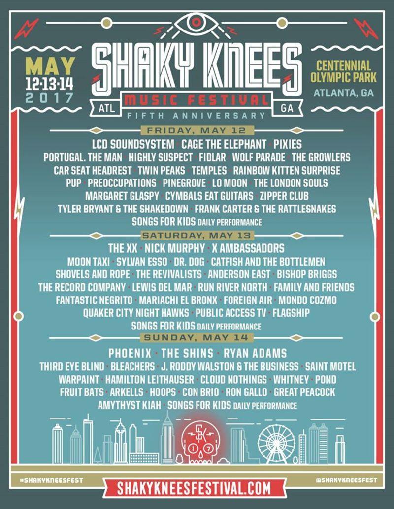 Shaky Knees 2017