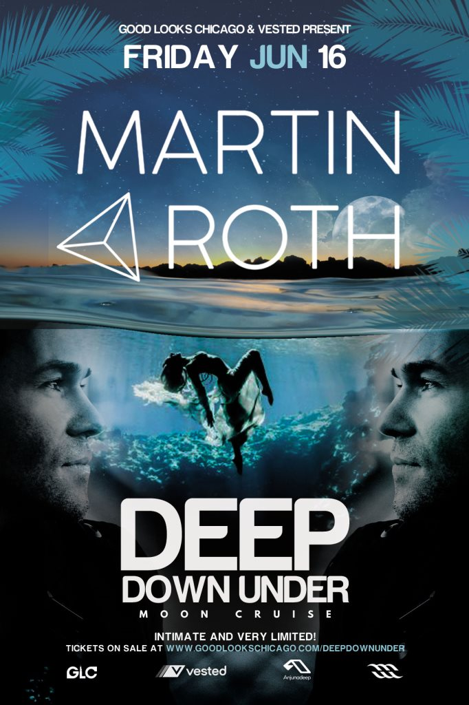 Martin Roth Deep Down Under Night Cruise Flyer