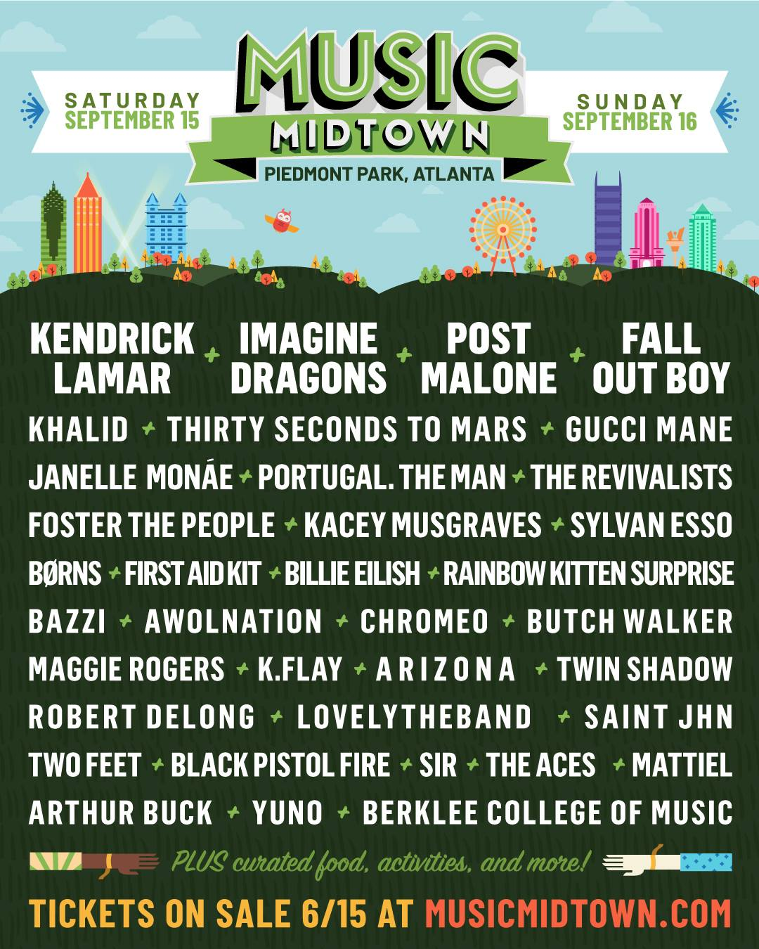 Music Midtown 2018 Lineup