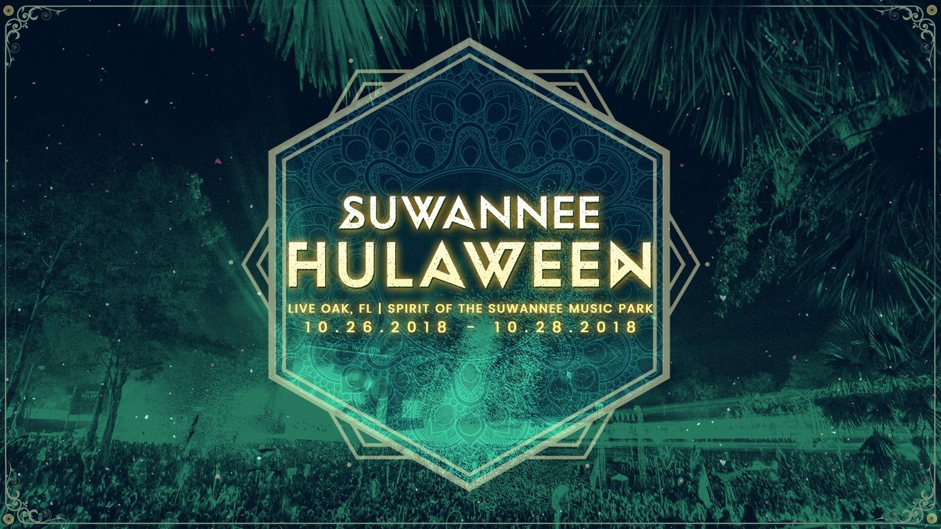 Suwannee Hulaween 2018 Banner