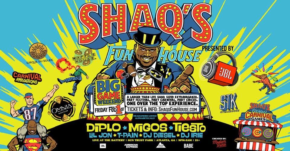 Shaqs Fun House Banner