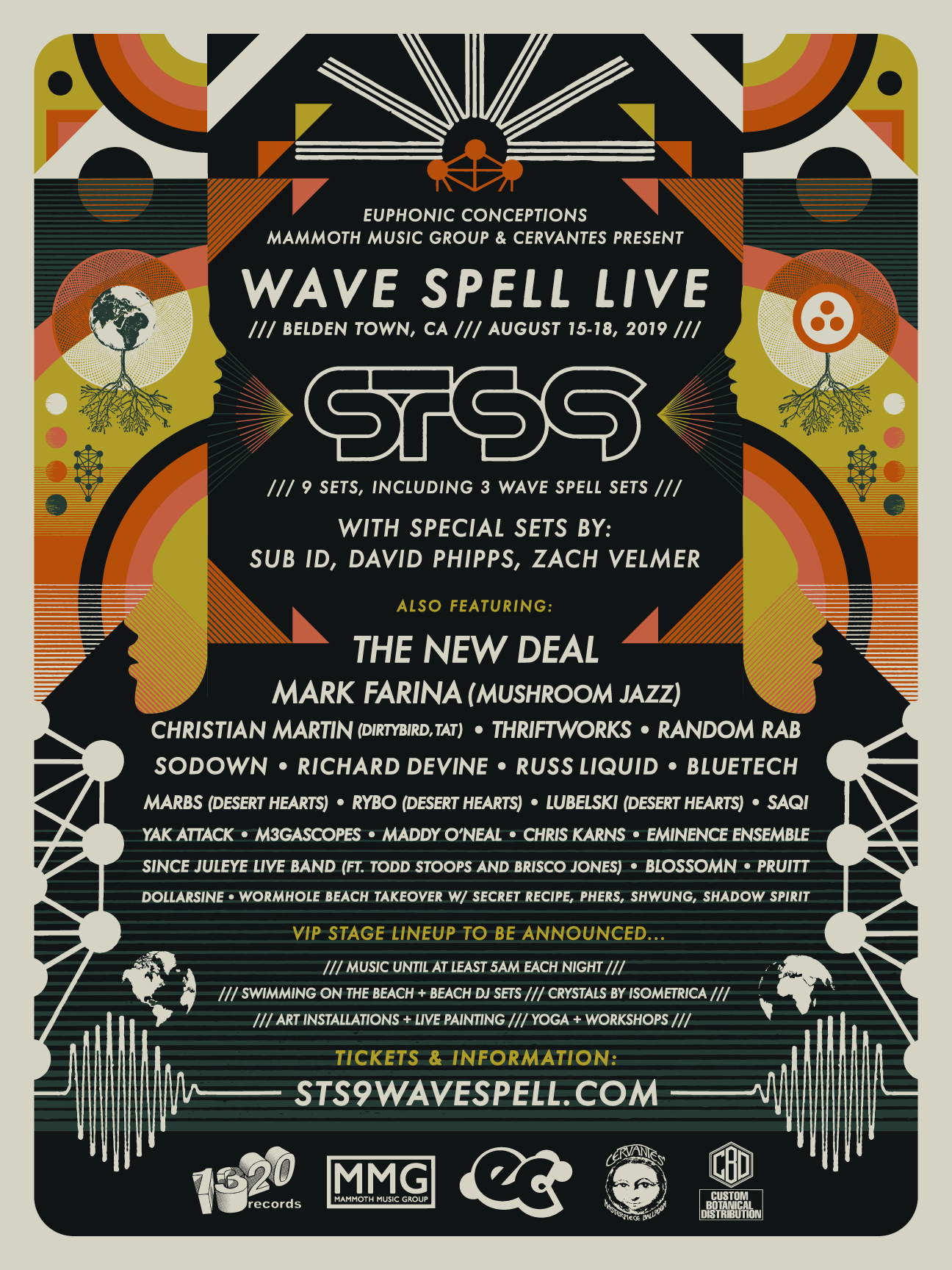 Sound Tribe Sector 9 Announces Wave Spell Live 2019 Lineup | Music