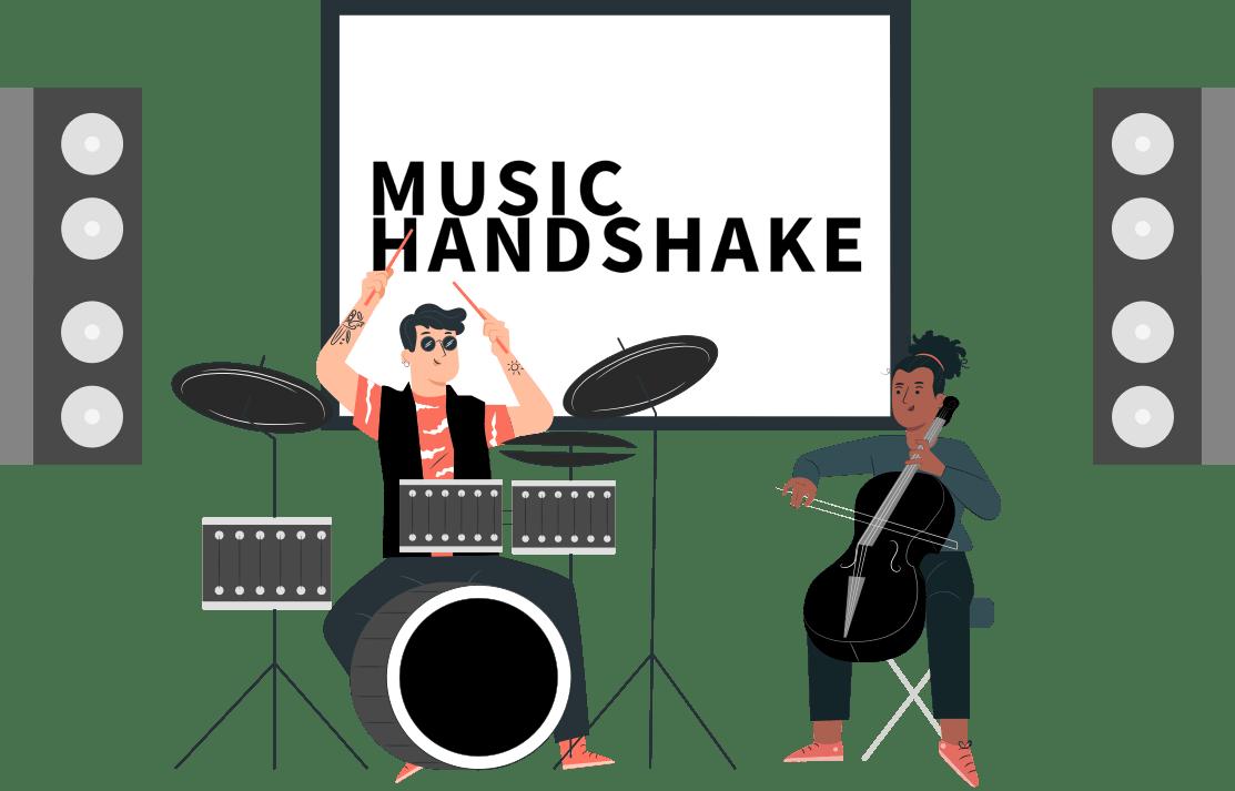 Music Handshake