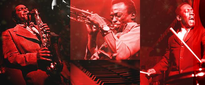 Jazz Greats - Charlie Parker, Miles Davis, Art Blakey