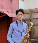 Ryoju F offers saxophone lessons in Mount Sinai , NY