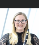 Audrey P offers clarinet lessons in Luna Pier , MI