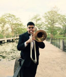 Eliud G offers trombone lessons in Islip Terrace , NY