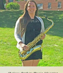 Chelsey P offers saxophone lessons in Samaria, MI