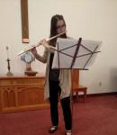 Holly L offers flute lessons in Pitcairn, PA