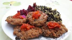 מתכון להמבורגר צמחוני מסייטן ופטריות