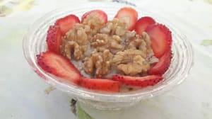מתכון ל דייסת קוואקר עם תותים