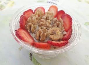 מתכון של  דייסת קוואקר עם תותים