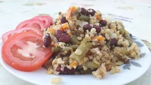 מתכון מוכן של תבשיל בריאות מהיר