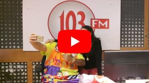 """סיגלית פז מתארחת בתוכנית """"רדיו 103FM"""""""