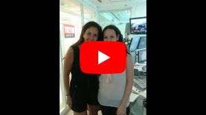 """סיגלית פז מתארחת בתוכנית """"מיכל צפיר ברדיו 103FM"""""""