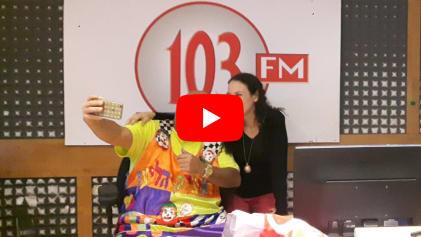 סיגלית פז מתארחת בתוכנית רדיו 103FM
