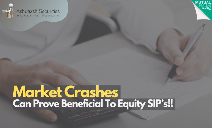 Market Crashes Can Prove Beneficial To Equity SIP's!!