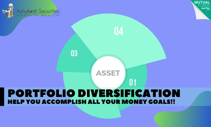 Portfolio Diversification Help You Accomplish All Your Money Goals!!