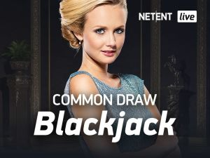 Netent Live Casino Blackjack Common Draw