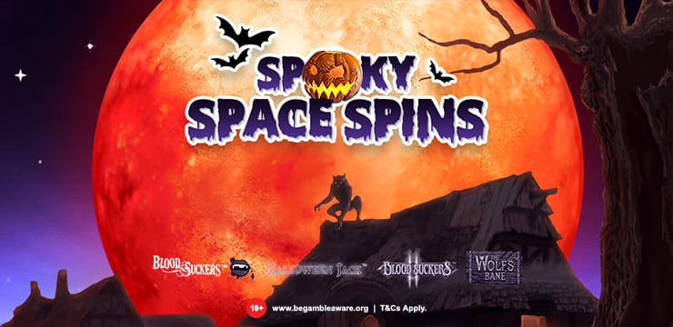 Claim your Spooky Space Spins!