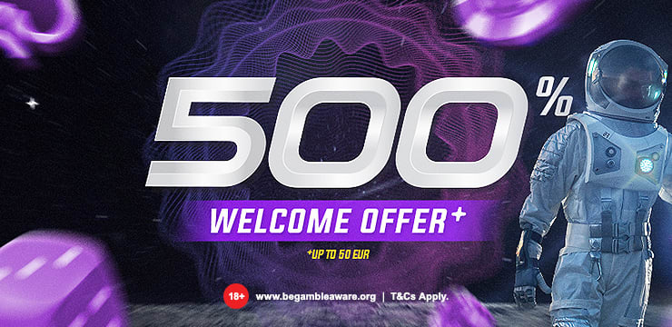 500% Welcome Offer