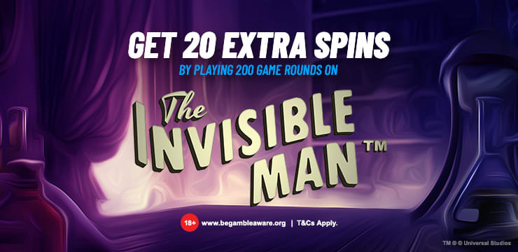 Invisible Man Extra Spins