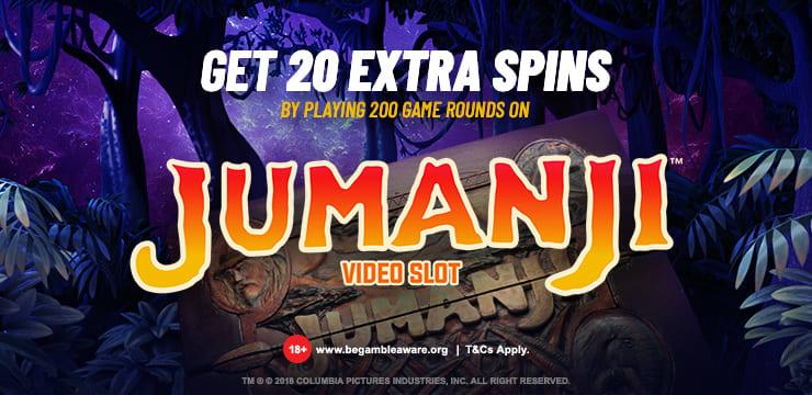Jumanji Extra Spins