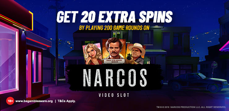 Narcos Extra Spins