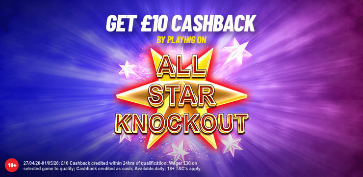 All Star Knockout Cashback