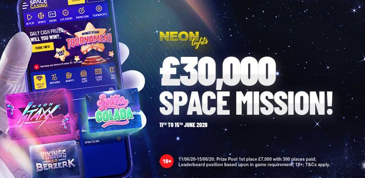 Neon Lights: £30,000 SpaceMission