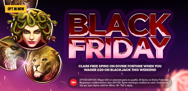 BLACKJACK FRIDAY