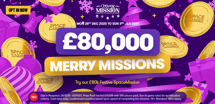 £80,000 Merry Mission