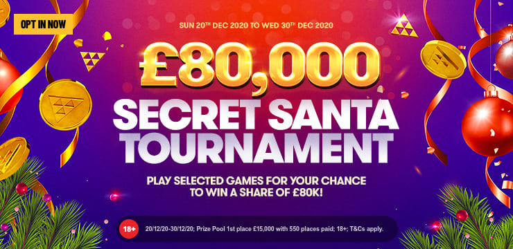 Secret Santa £80,000 Tournament