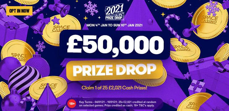 The 2021 PrizeDrop