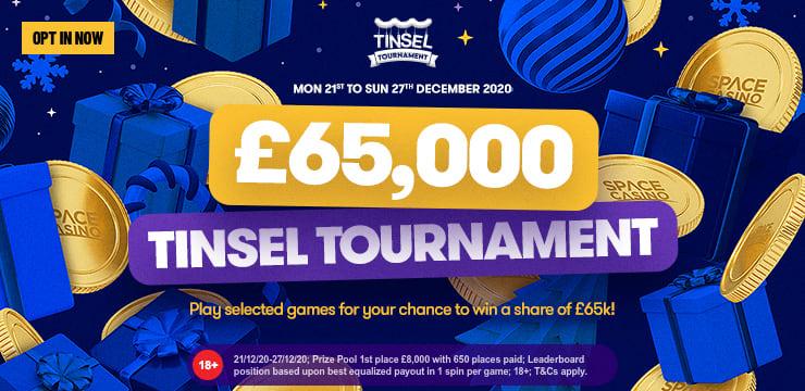£65,000 Tinsel Tournament