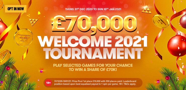 £70,000 Welcome 2021 Tournament