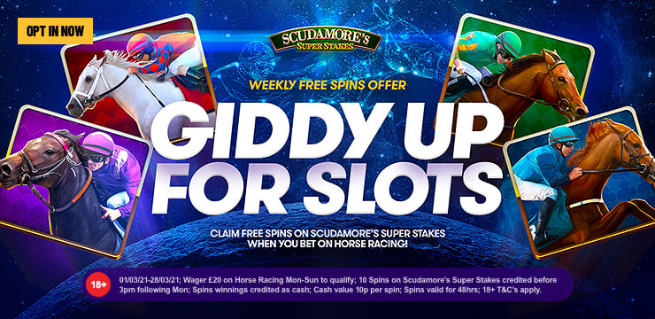 Giddy Up For Slots