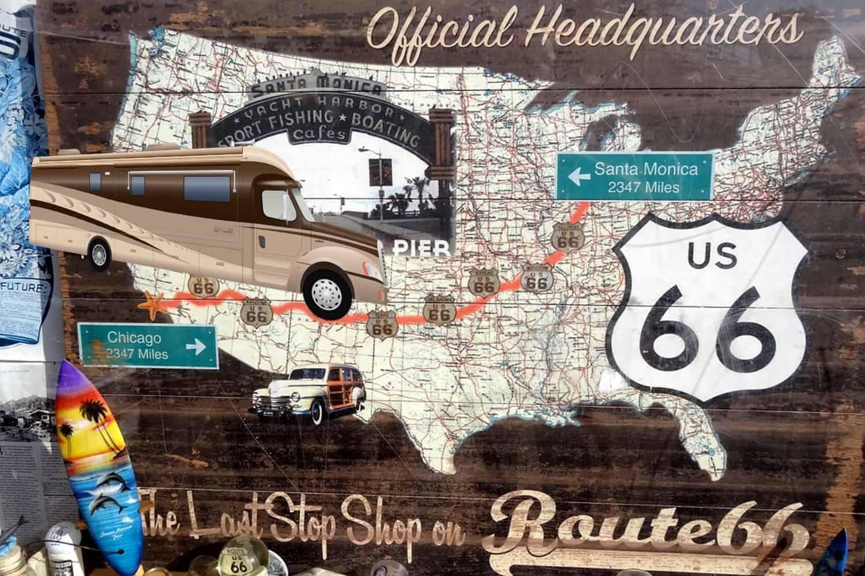La ruta 66 en autocaravana 2