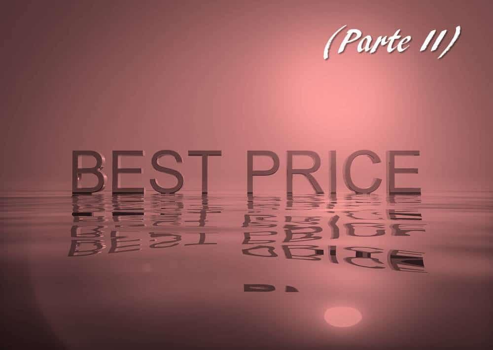 aumentar los precios de tus productos - parte II