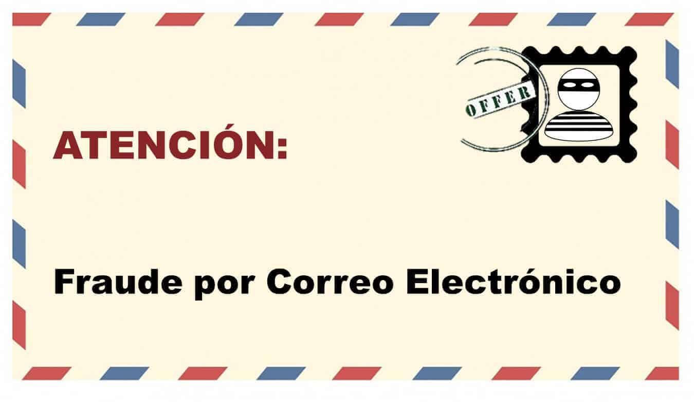 correos electronicos fraudulentos