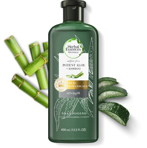 Herbal Essences Potent Aloe & Bamboo Hair Strengthening Sulfate-Free Shampoo