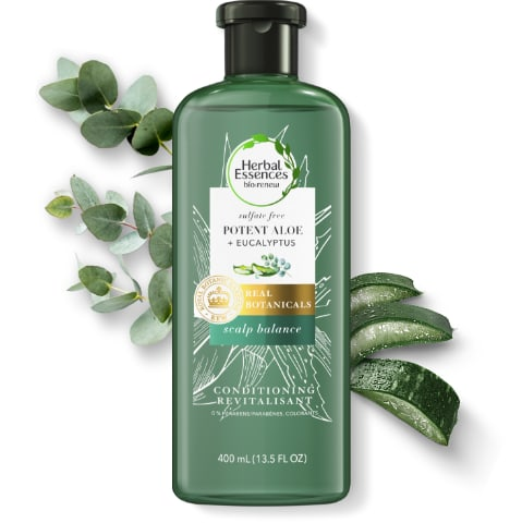 Herbal Essences Potent Aloe & Eucalyptus Leaf Scalp Balance Conditioner