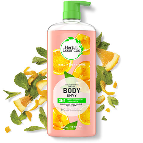 Herbal Essences Body Envy 3 in 1 Shampoo, Conditioner & Body Wash