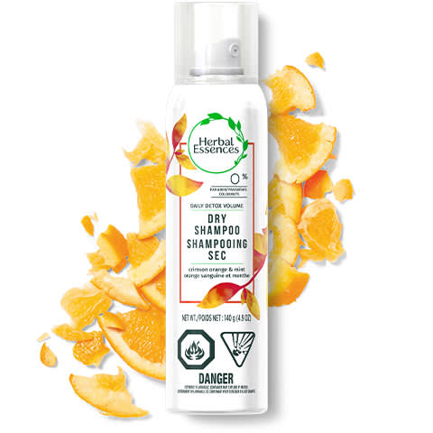 Herbal Essences Daily Detox Orange & Mint Dry Shampoo