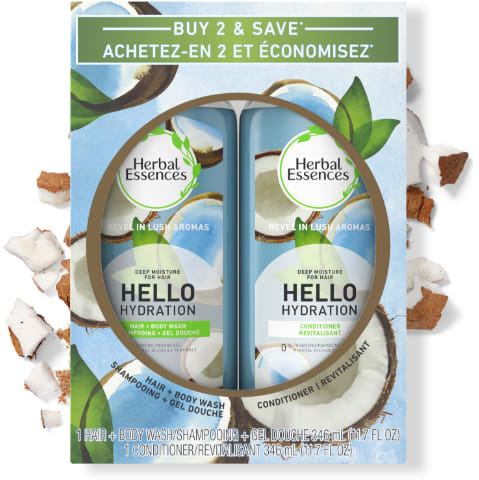 Herbal Essences Hello Hydration Shampoo & Conditioner Pack