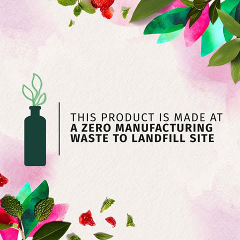 This products is made at zero manufacturing waste to landfill site