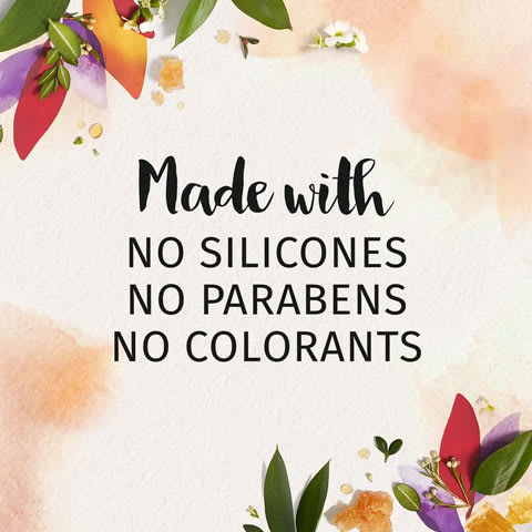 Made with no silicones, no parabens and no colorants
