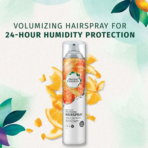 Volumizing hairspray for 24-hour humidity protection