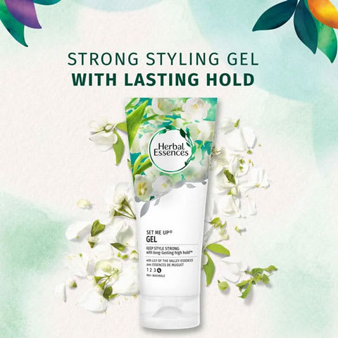 Strong lasting gel with lasting hold
